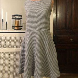 NWT Ann Taylor LOFT Grey size 4 sleeveless dress